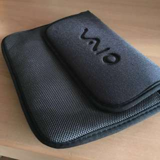 FREE Mailing / Sony VAIO black thick padded pouch with Velcro