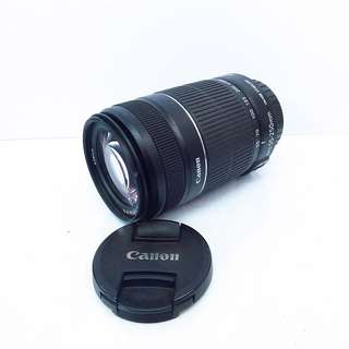 Canon 55-250mm IS II f4-5.6 zoom lens