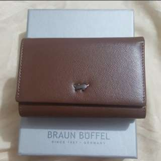 Authentic Braun Buffel Full Leather key pouch