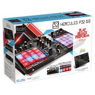 (SALE!) Hercules P32 DJ, 32 Pads DJ/MIDI Controller With Equalizers, Effects, Hot Cues And Loops (TODAY ONLY!)