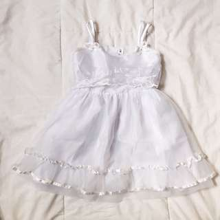 White Baptismal Dress