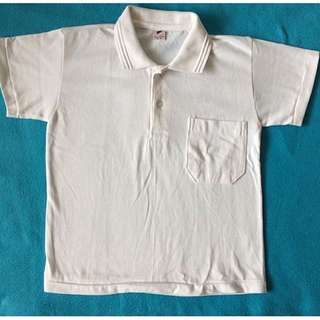 PL Outlook Jr. White Polo Shirt