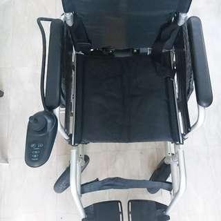 Electrical Wheel chair, motorized, mobile, foldable, 24V 12AH Li battery
