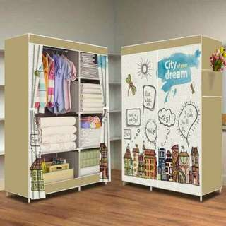 Lemari portable motif citydream