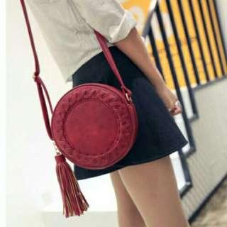 Circle Fashionable Sling Bag