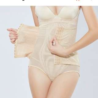 Corset High waist panties postpartum body shaping