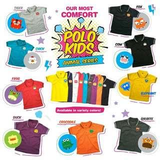 Polo animal shirt / baju anak