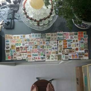 世界各地郵票已蓋銷