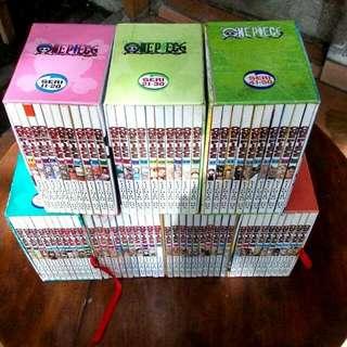 Komik one piece boxset 1-70
