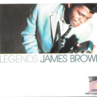 MY PRELOVED CD - LEGEND JAMES BROWN / /FREE DELIVERY (F3S)