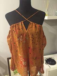Zara Sexy off shouldered top