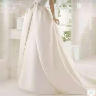 高腰 婚紗 下身裙 s碼