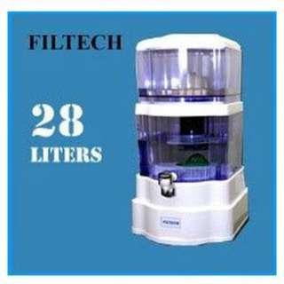 Alat Penyaringan Air Mineral Pot 28 Liter Bio Energy