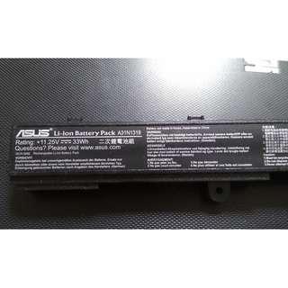 Used Original Asus Laptop battery