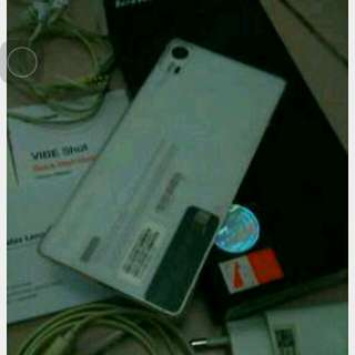 Jual hp Lenovo vibe shot full set mulus