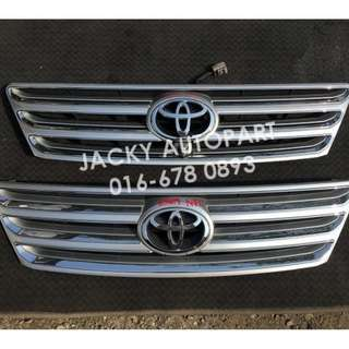 Front Grill Depan NFL Silver Toyota Ipsum ACM21 Jp