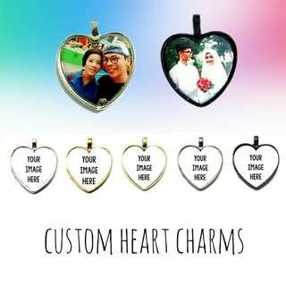 Customized Heart Charm
