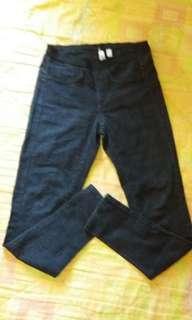 Authentic Mango black skinny jeans