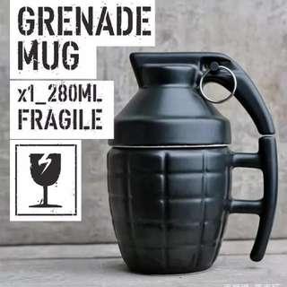手榴彈帶蓋 咖啡杯 搞鬼水杯