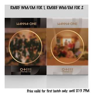 Preorder first batch -Wanna One Mini Album Vol. 2 - 0+1=1 (I Promise You)