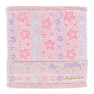 日本 Sanrio 直送 Little Twin Stars 櫻花系列毛巾 / 方巾