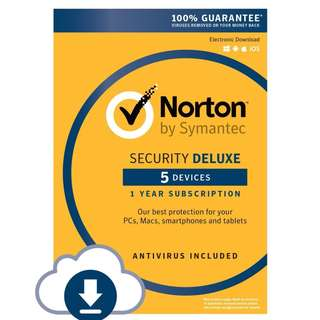Norton Security Deluxe/Premium for 5 or 10-device 1-year license - product key code license