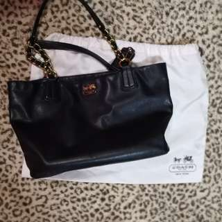 coach leather authentic