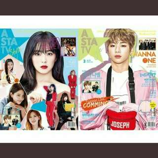 Asta TV (march issue 2018) Kang Daniel x Red Velvet