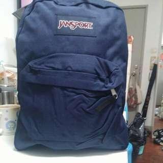Jansport 深藍色25公升背包
