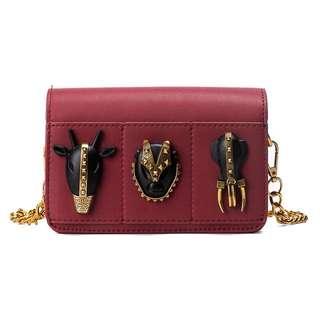 🚚 「新品推薦」歐美時尚百搭造型扣飾鏈條包
