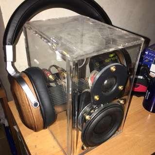 高保真木製耳筒機