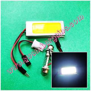 Universal Super-Bright White Interior Car Van Minibus Cabin Dome Map Reading Cargo Trunk  Boot Light T10 Festoon White 36 LED COB Panel Bulb Slab