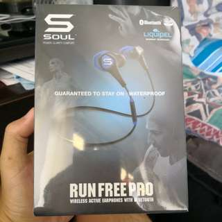 Soul Run Free Pro Wireless Bluetooth earpiece