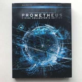 Prometheus Blu-ray
