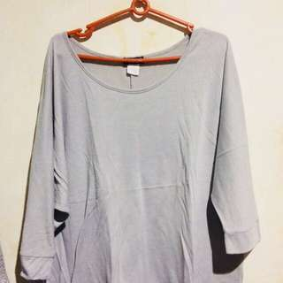 Gray Pullover Plus size