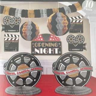 Hollywood theme decoration