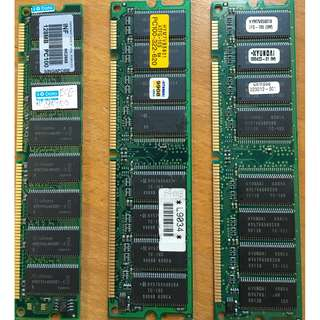 64MB and 128MB SDRAM