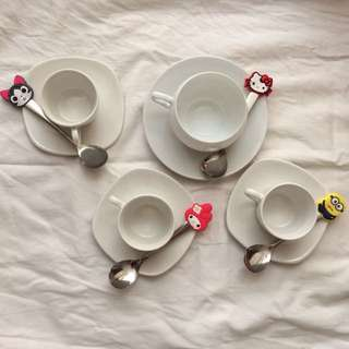 Kiddie Cartoon Teaspoons