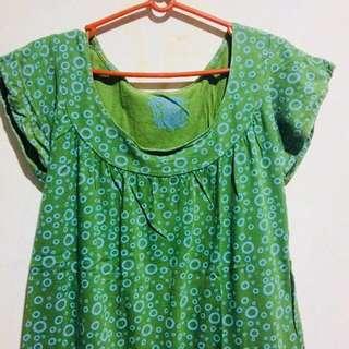 Green Blouse Plus size