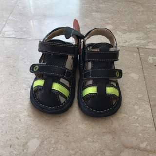BN Baby boy's sandals, bata, leather 15.5cm