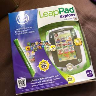 Leap Frog LeapPad Explorer with Camera