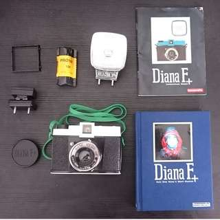 Lomography Diana F+ Camera and Flash+Film Roll (Hong Meow Limited Edition)