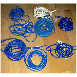 Ethernet cables – RJ45 – Cat 5