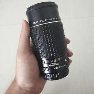 Pentax 200 mm f4 SMC Pentax-M (LENSA MANUAL)