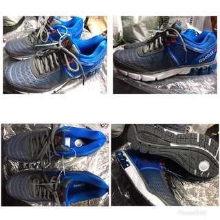 Blue & Grey Reebok Running Shoes
