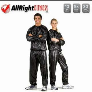 (2套/2sets) 運動爆汗焗汗桑拿衣 (有碼) (包Buyup自取站取貨) (thermo carolie burn suits)