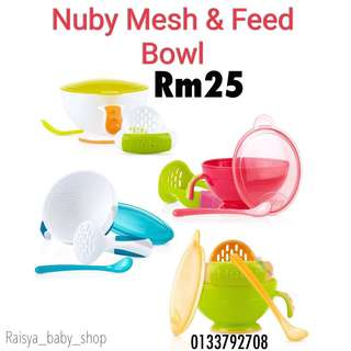 Nuby mesh and feed
