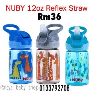 Nuby 12oz straw bottle