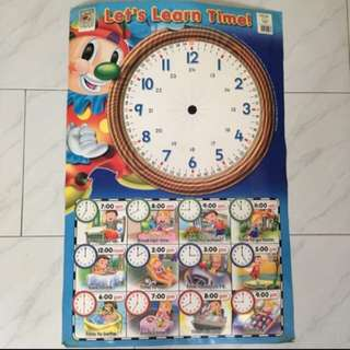 Learn time poster