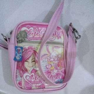 #MakinTebel# Sling Bag Pink